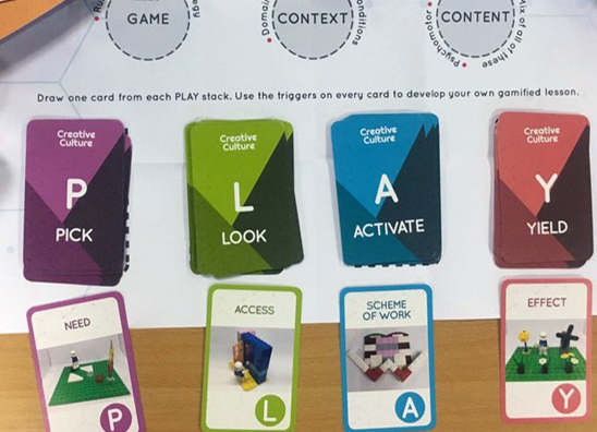 PLAY Cards for Gamification