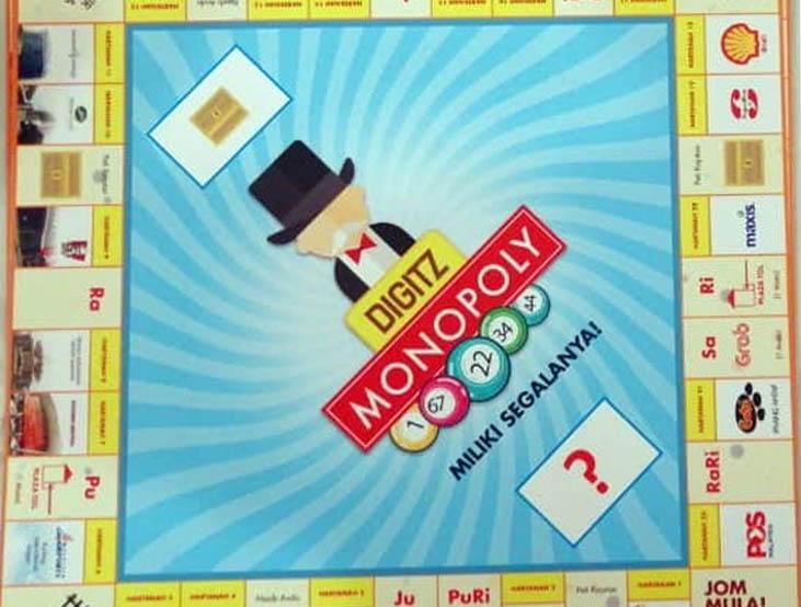 Digitz Monopoly