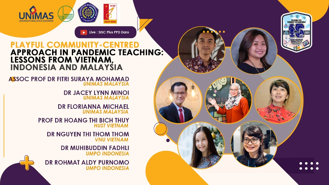Playful Community-Centred Approach in Pandemic Teaching: Lessons From Vietnam, Indonesia & Malaysia
