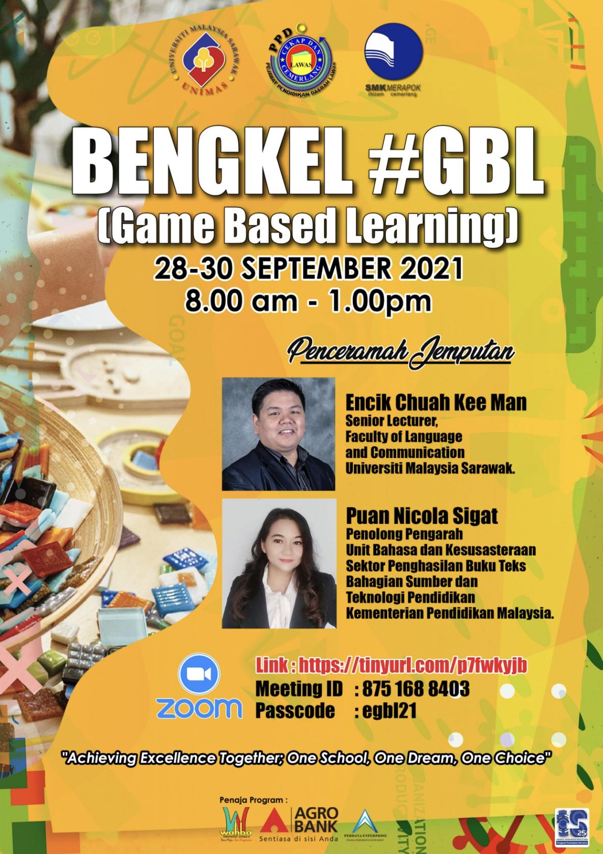 #GBL (Game-Based Learning) Workshop